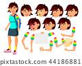 asian, female, teen 44186881