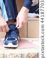 鞋 鞋子 橡皮底帆布鞋 44187703