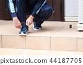 รองเท้า,เท้า,บันได 44187705