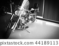 powerful  motorcycles black and white 44189113