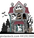 haunted house ghost 44191369