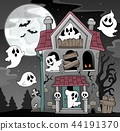 haunted house ghost 44191370