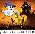 ghost hat lantern 44191386