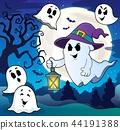 ghost hat lantern 44191388