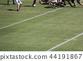 美式足球 足球 田野 44191867