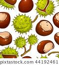 chestnut vector pattern 44192461