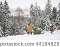 christmas, tree, girl 44194929