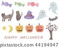 halloween, watercolour, watercolors 44194947