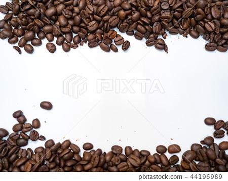 咖啡豆背景 44196989