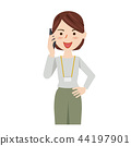 女商人偶然女商人智能手机 44197901