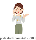 Business Woman Casual ธุรกิจสมาร์ทโฟน Woman 44197903