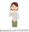 女商人偶然女商人智能手机 44197904