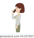 女商人偶然女商人智能手机 44197907
