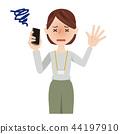 事业女性 智能手机 商业 44197910