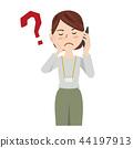 女商人偶然女商人智能手机 44197913