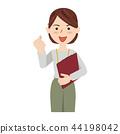 握拳 事業女性 商務女性 44198042