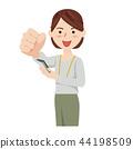 女商人休闲商务休闲工作人员 44198509