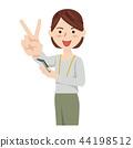 Business Woman Casual พนักงานธุรกิจแคชชวล 44198512
