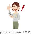 女商人休闲商务休闲工作人员 44198513