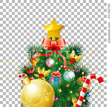 Christmas Tree with Toys 44198760