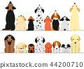 vector vectors dog 44200710