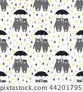 pattern, umbrella, bear 44201795