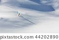 Freeride in fresh powder snow. 44202890