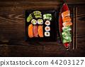 kitchen, sushi, traditional 44203127
