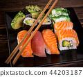 food, dish, sushi 44203187
