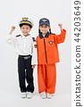 亚洲 亚洲人 儿童 44203649