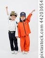 亚洲 亚洲人 儿童 44203654