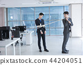A day of young businessman in the office 061 44204051