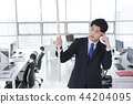 A day of young businessman in the office 002 44204095