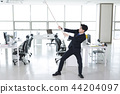 A day of young businessman in the office 007 44204097