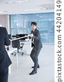 A day of young businessman in the office 053 44204149