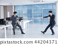 A day of young businessman in the office 051 44204371