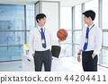 A day of young businessman in the office 098 44204411