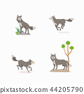 Animal icons collection vector illustration 057 44205790