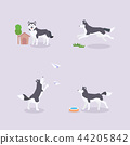 Animal icons collection vector illustration 012 44205842