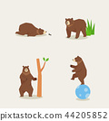 Animal icons collection vector illustration 017 44205852
