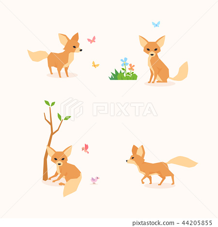 Animal icons collection vector illustration 067 44205855