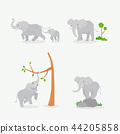 Animal icons collection vector illustration 026 44205858