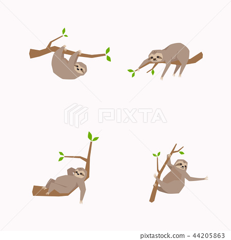 Animal icons collection vector illustration 060 44205863