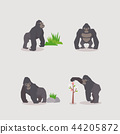 Animal icons collection vector illustration 046 44205872