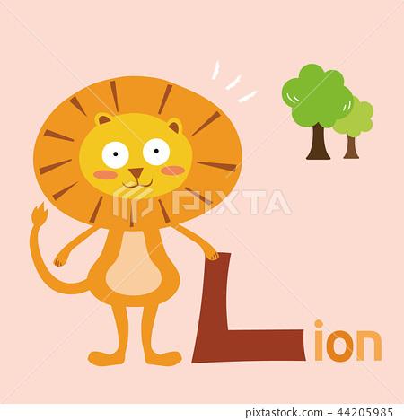 Alphabet Vector Illustration 12 44205985
