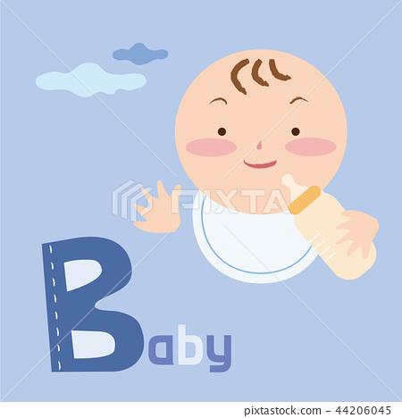 Alphabet Vector Illustration 2 44206045