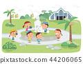 Jeju Promotion Vector Illustration 5 44206065