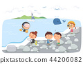 Jeju Promotion Vector Illustration 9 44206082