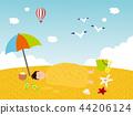 Summer concept illustration 11 44206124