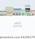 Winter Village 3 44206279